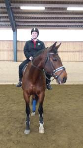 Jag på hästen jag inte minns namnet på!